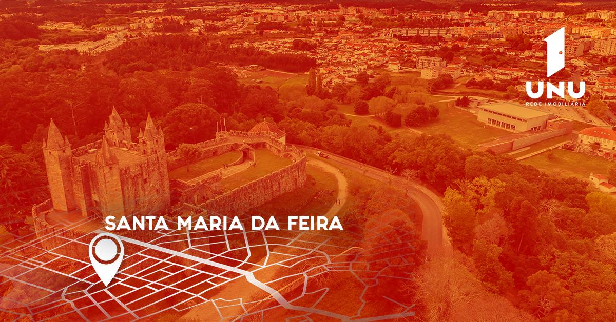 UNU Rede Imobiliária a caminho de Santa Maria da Feira
